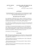 Quyết định số 6845/QĐ-BCT