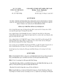 Quyết định số 2517/QĐ-TCHQ