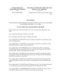 Quyết định số 6014/QĐ-UBND