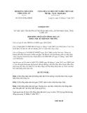 Nghị quyết số 65/2012/NQ-HĐND