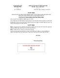 Quyết định số 3119/QĐ-CT