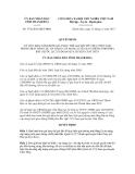 Quyết định số 3738/2012/QĐ-UBND