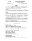 Thông tư số 196/2012/TT-BTC