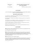 Quyết định số 1012/QĐ-BXD
