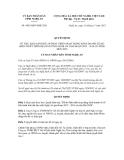 Quyết định số 4655/QĐ-UBND.TM