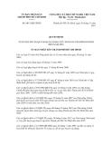 Quyết định số 6013/QĐ-UBND