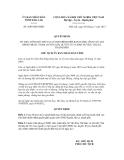 Quyết định số 2609/QĐ-UBND