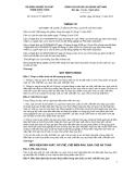Thông tư số 59/2012/TT-BNNPTNT