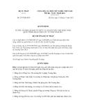 Quyết định số 2975/QĐ-BTP