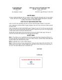 Quyết định số 2443/QĐ-CTUBND