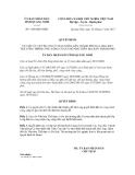 Quyết định số 3160/QĐ-UBND