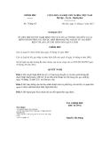 Nghị quyết số 75/NQ-CP