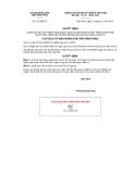 Quyết định số 3121/QĐ-CT