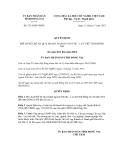 Quyết định số 3314/QĐ-UBND