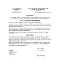 Quyết định số 1683/QĐ-UBND