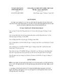 Quyết định số 68/2012/QĐ-UBND