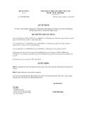 Quyết định số 1007/QĐ-BXD
