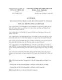 Quyết định số 677/QĐ-TCTK