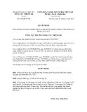 Quyết định số 628/QĐ-TCTK