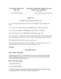 Thông tư số 31/2012/TT-NHNN