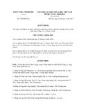 Quyết định số 1789/QĐ-TTg