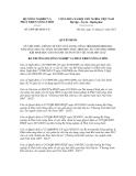 Quyết định số 2909/QĐ-BNN-CN