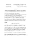 Thông tư số 05/2012/TT-BNG