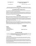 Quyết định số 2969/QĐ-BGTVT