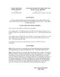 Quyết định số 2393/QĐ-UBND