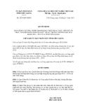 Quyết định số 2839/QĐ-UBND