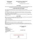 Quyết định số 41/2012/QĐ-UBND