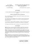 Quyết định số 2492/QĐ-TCHQ