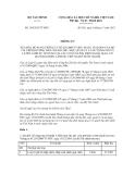 Thông tư số 189/2012/TT-BTC