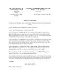 Thông tư liên tịch số 34/2012/TTLT-BCTBTNMT