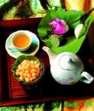 Tự làm trà lá sen giảm cân.