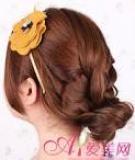 Điệu đà với kiểu tóc tết giản đơn