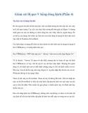 Giám sát Hyper-V bằng dòng lệnh (Phần 4)