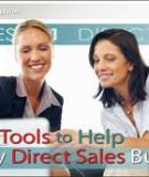 Helping Work at Home Moms Succeed in Direct Sales