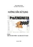 Hướng dẫn sử dụng Pro ENGINEER  2000