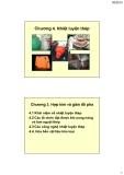 Vật liệu kim loại ( Hoàng Văn Vương ) - Chương 4. Nhiệt luyện thép