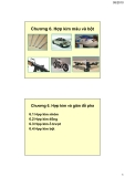 Vật liệu kim loại ( Hoàng Văn Vương ) - Chương 6. Hợp kim màu và bột