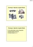 Vật liệu kim loại ( Hoàng Văn Vương ) - Chương 3. Hợp kim và giản đồ pha