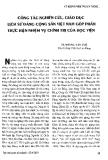 Công tác nghiên cứu, giáo dục lịch sử Đảng cộng sản Việt Nam góp phần thực hiện nhiệm vụ chính trị của học viện
