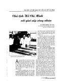 Báo cáo khoa học:Chủ tịch Hồ Chí Minh với giai cấp công nhân