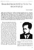Báo cáo khoa học : Cần sưu tầm di cảo của nhà triết học Trần Đức Thảo vào lưu trữ quốc gia