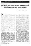 Báo cáo khoa học:Chủ nghĩa Mác Lênin với quá trình phát triển và thắng lợi của cách mạng Việt Nam