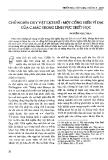 Chủ nghĩa duy vật lịch sử - Một cống hiến vĩ đại của C.Mác trong lĩnh vực Triết học