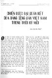 Báo cáo khoa học:Chiến lược đại đoàn kết của Đảng cộng sản Việt Nam