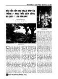 Báo cáo khoa học:Bảo tồn tôn tạo nhà ở truyền thống và khai thác tiền năng du lịch của di sản Huế
