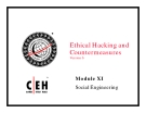 Module 11 Social Engineering